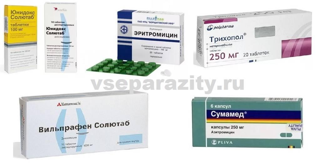 уреаплазма чувствительность к антибиотикам