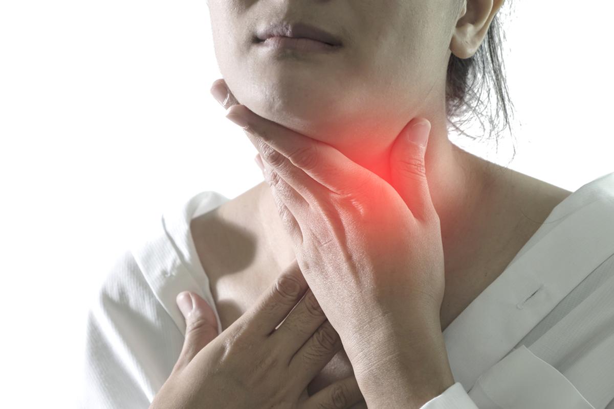 ком в горле щитовидка