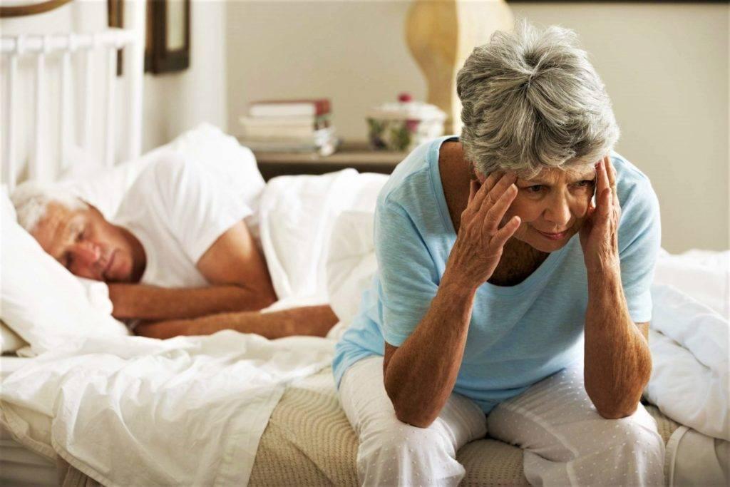 бессонница у пожилых людей лечение