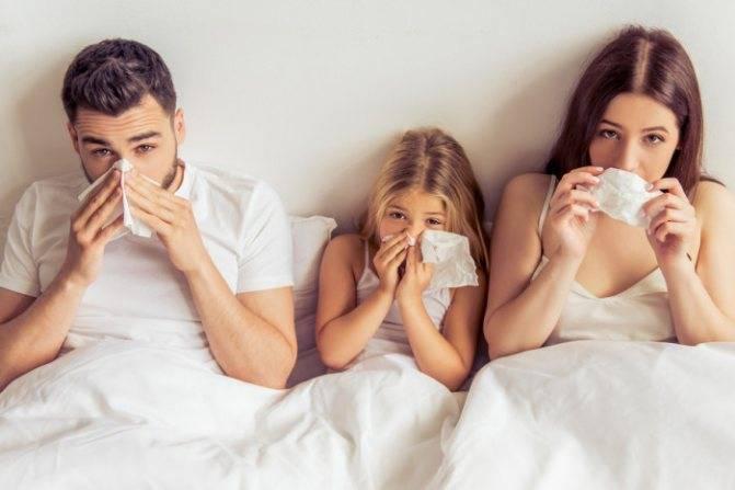 Насморк кашель без температуры у взрослых чем лечить