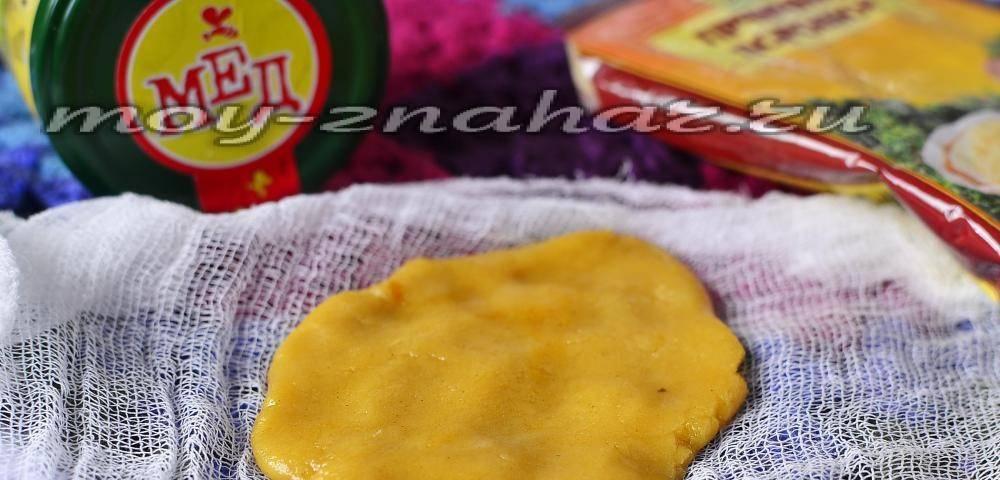 картофельная лепешка от кашля для детей