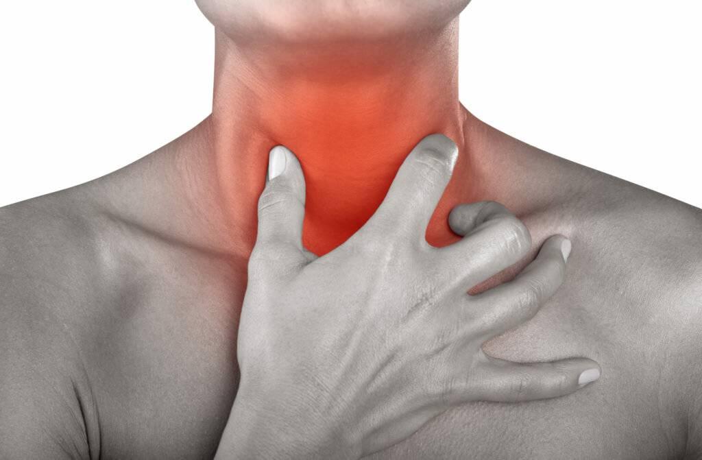Боль в носоглотке при простуде лечение