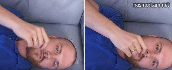 Как правильно закапать в нос грудничку капли?