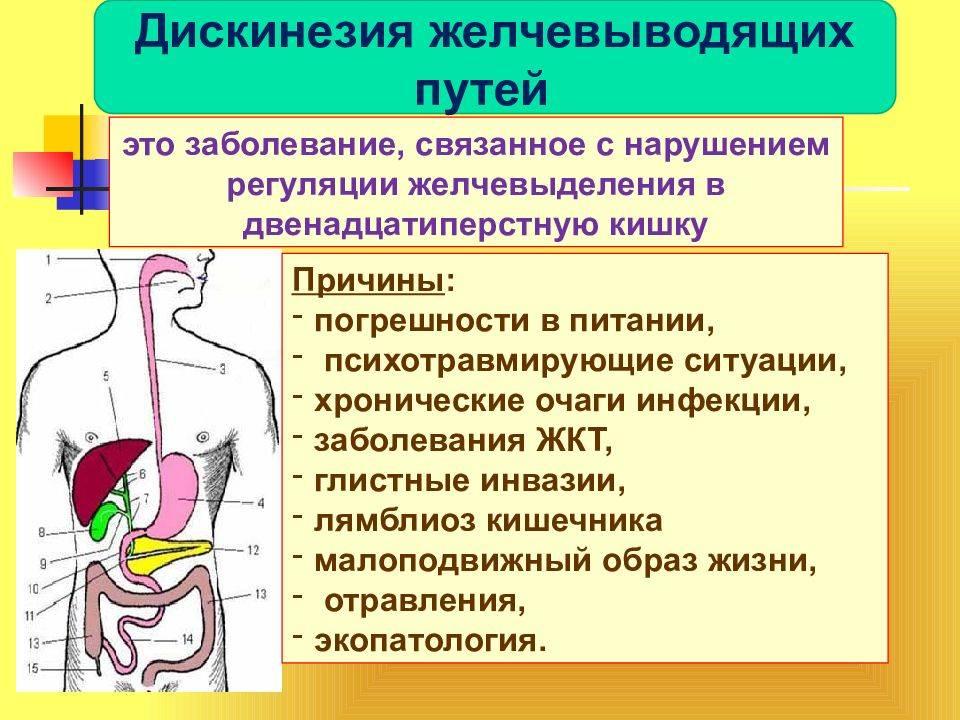 дисфункция желчного пузыря по гипомоторному типу