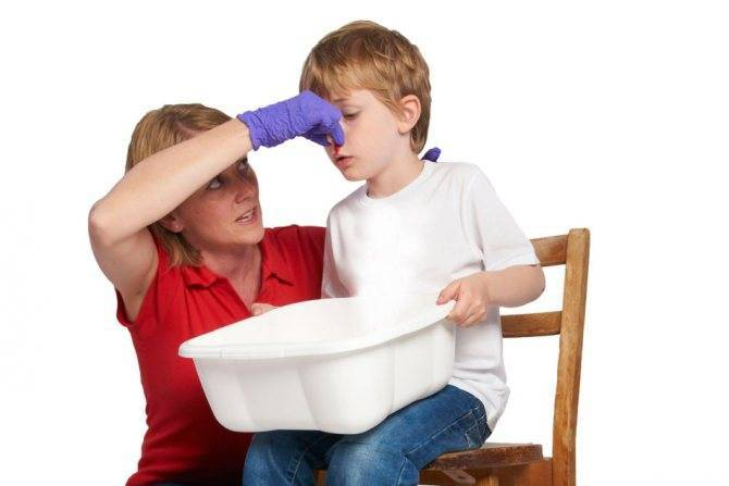 Кровотечение из носа у ребенка