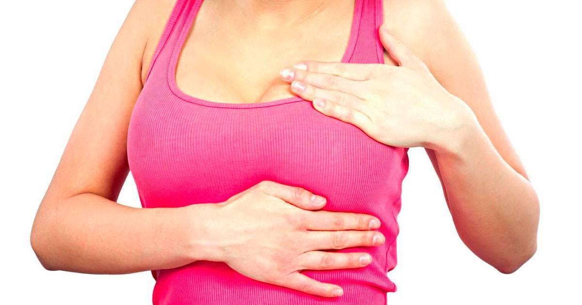 осмотр и пальпация молочных желез