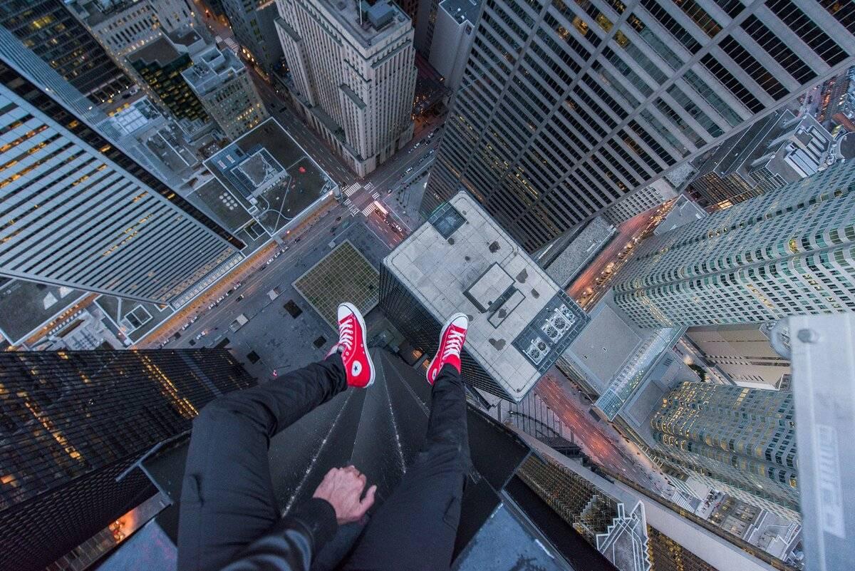 страх высоты фобия