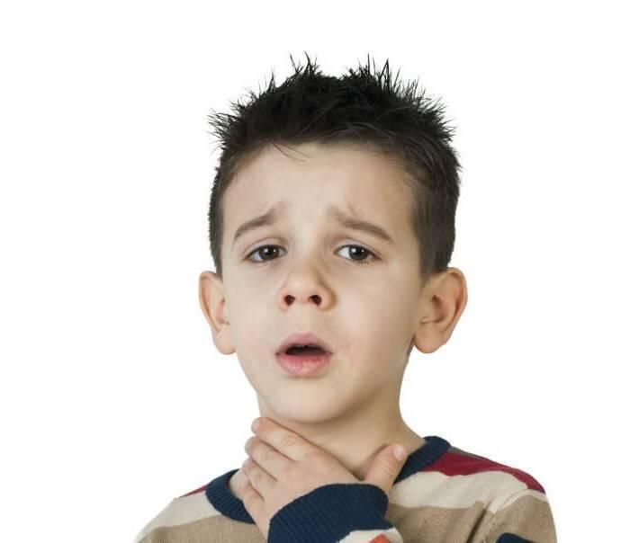 У ребенка болит горло без температуры чем лечить
