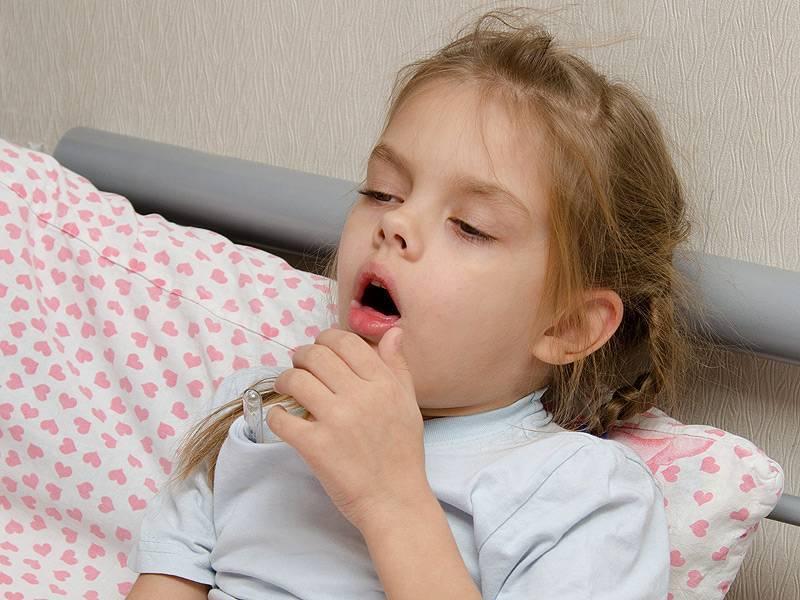 болит горло при кашле у ребенка