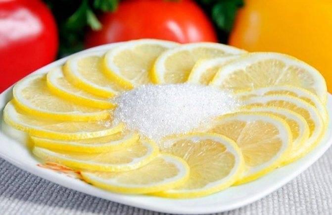 Лимон при ангине: рецепты