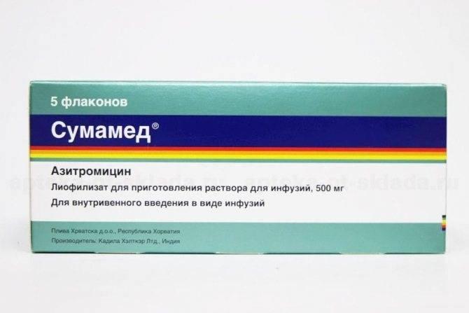 отит лечение антибиотики