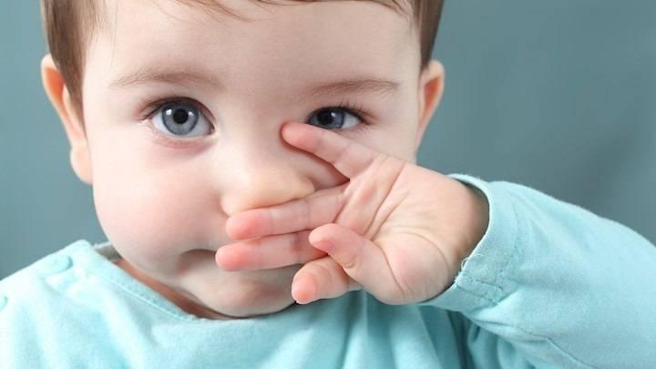 как вылечить сопли у ребенка 1 год