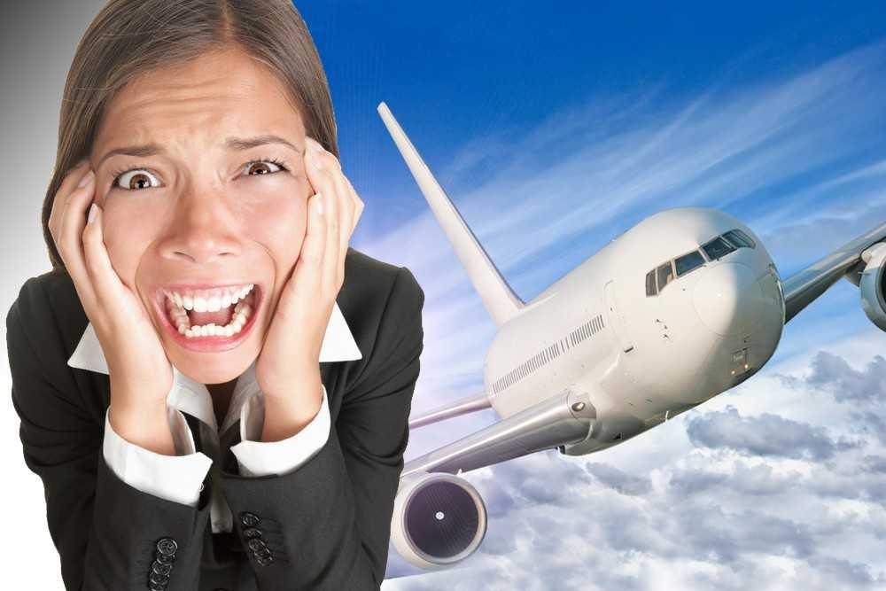 Аэрофобия или боязнь летать на самолете - как избавиться?