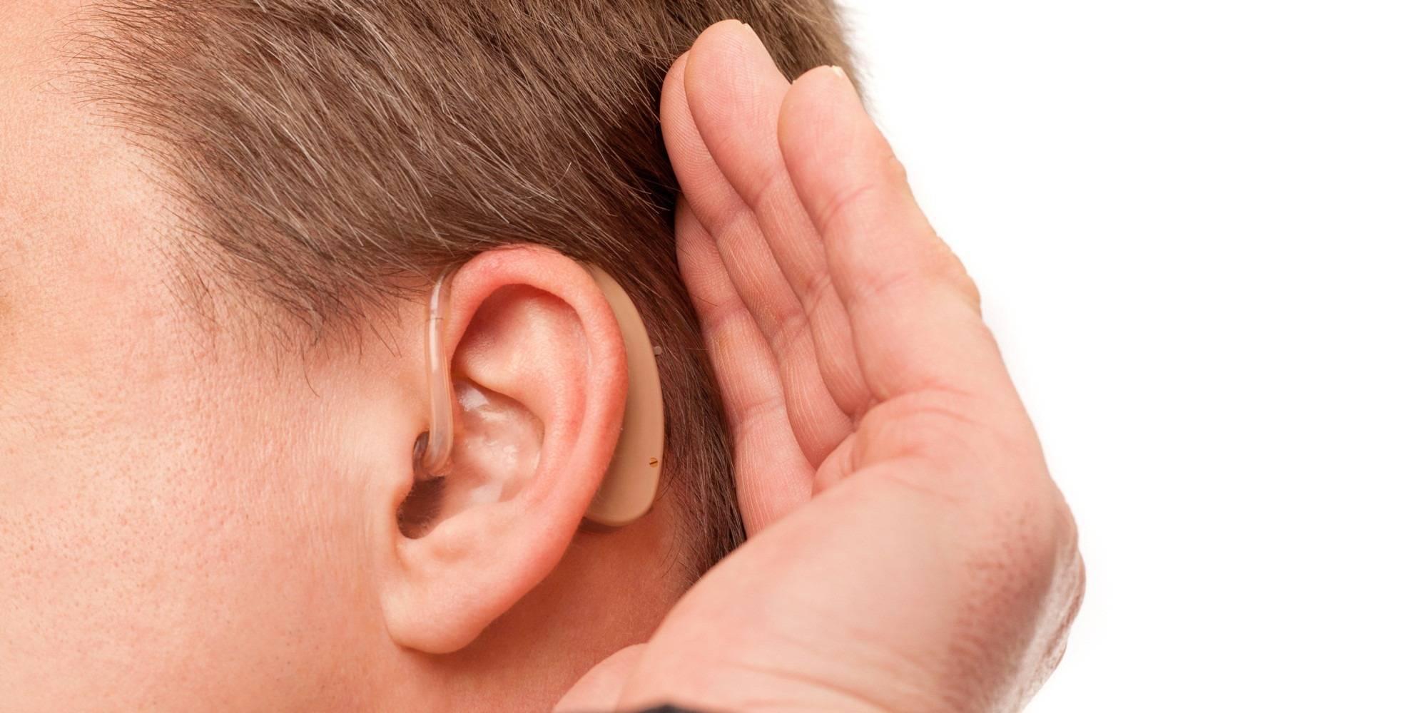 Нарушение слуха (тугоухость, глухота)