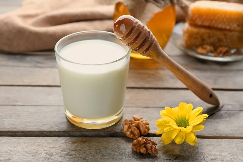молоко при кашле мокром