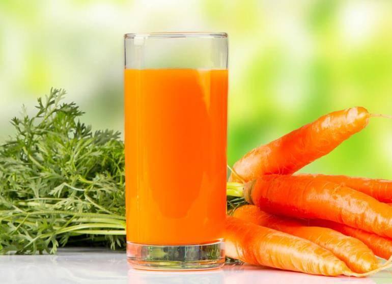 Морковный или свекольный сок от насморка