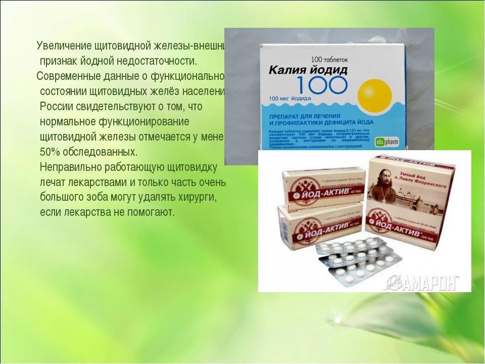 Таблетки для щитовидки | pro shchitovidku