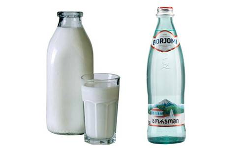 Молоко с боржоми от кашля: пропорции для детей и взрослых
