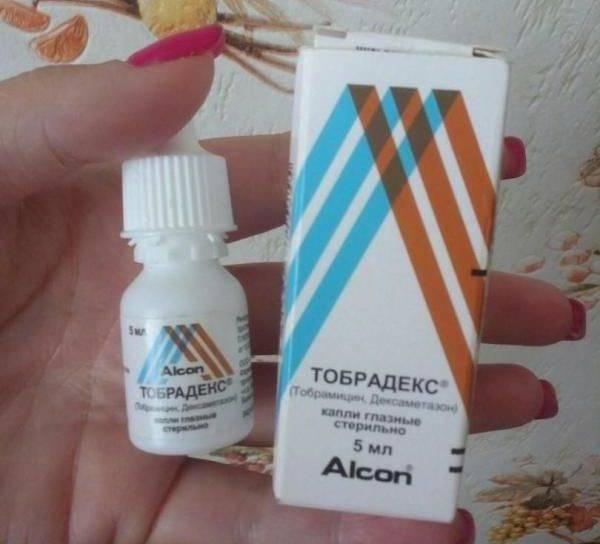 Инструкция по применению глазных капель тобрадекс