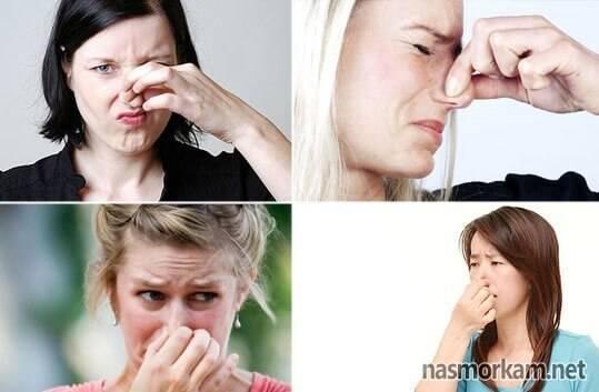 запах в носу причины