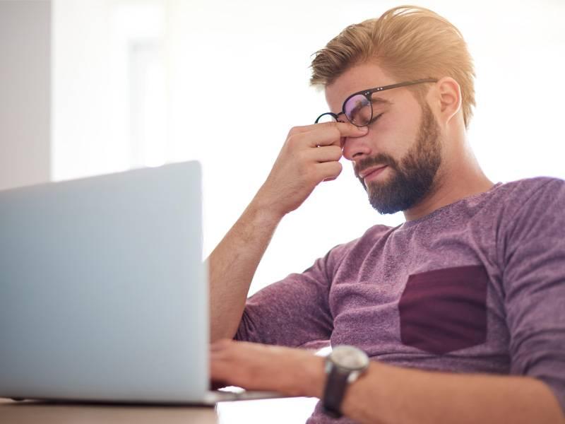 Что делать, если устают глаза от монитора