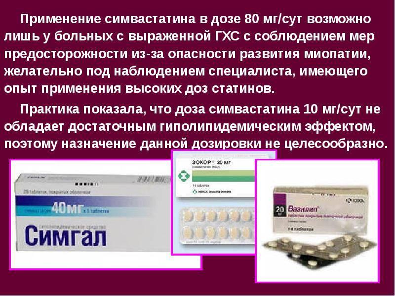 Наиболее распространённые препараты для лечения атеросклероза сосудов головного мозга