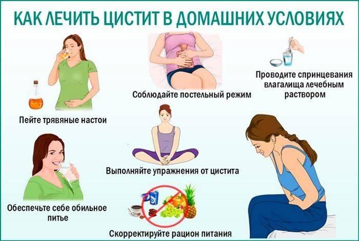 как лечить цистит беременным в домашних условиях