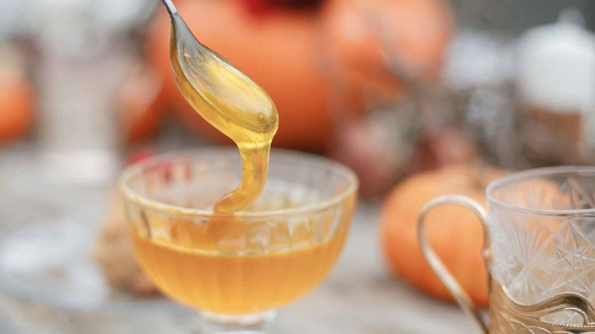 Лечение и очищение печени тыквой с медом