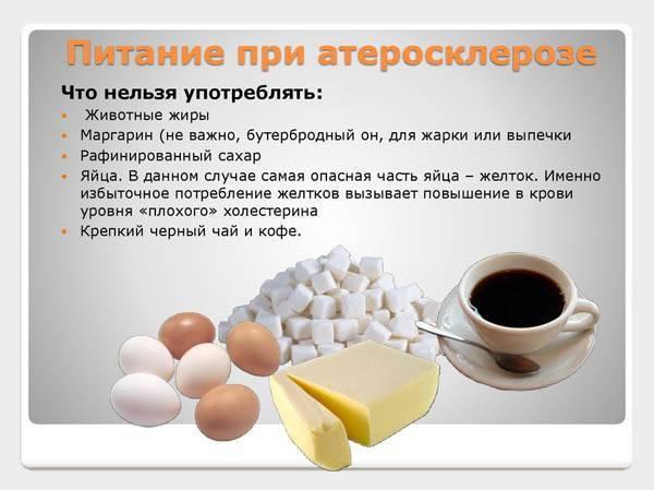 диета и питание при атеросклерозе