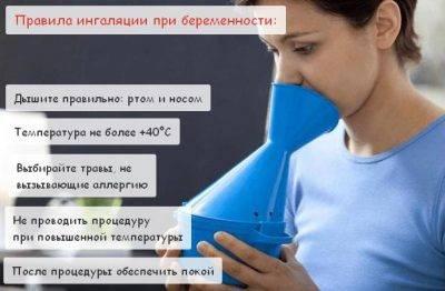 Ингаляции при беременности=) хорошая статейка, на заметку