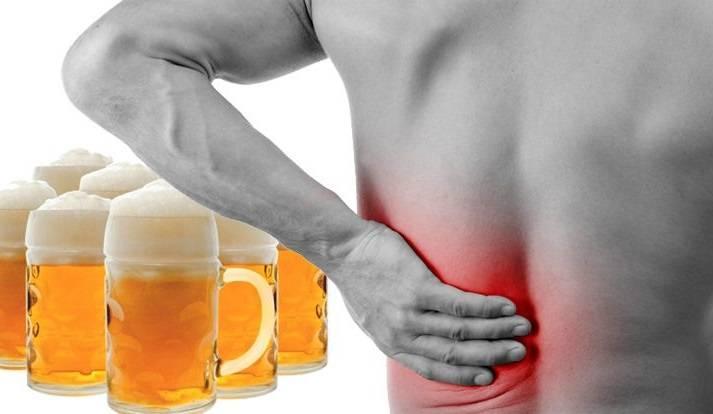 боль в печени после алкоголя