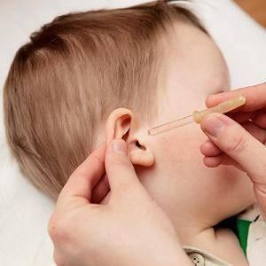 желтые выделения из уха у грудничка
