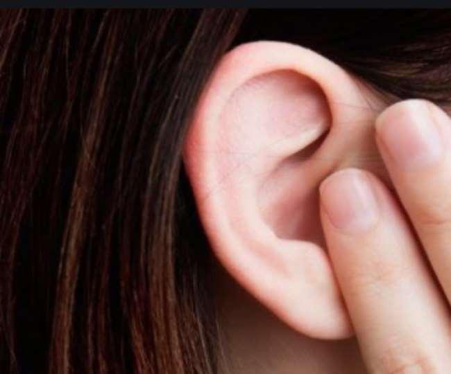 Герпес на ушах у ребенка