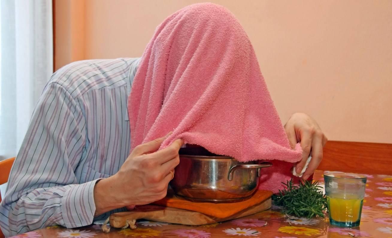 как дышать над картошкой при кашле