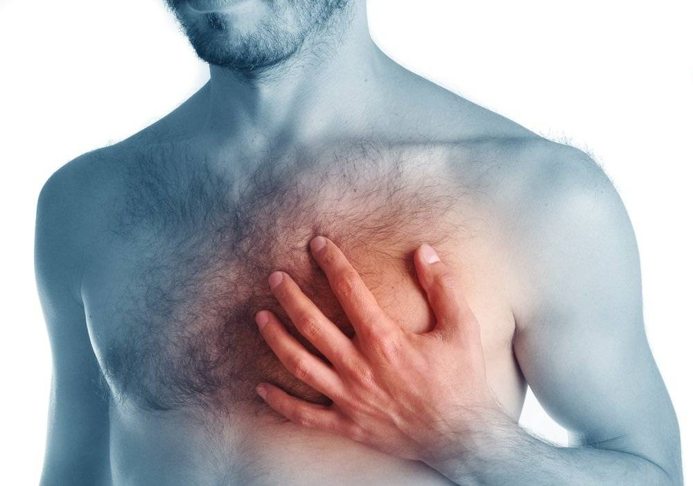У мужчины болит грудь возле соска
