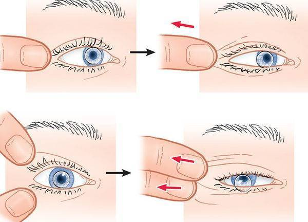 Как правильно снять контактные линзы с глаз