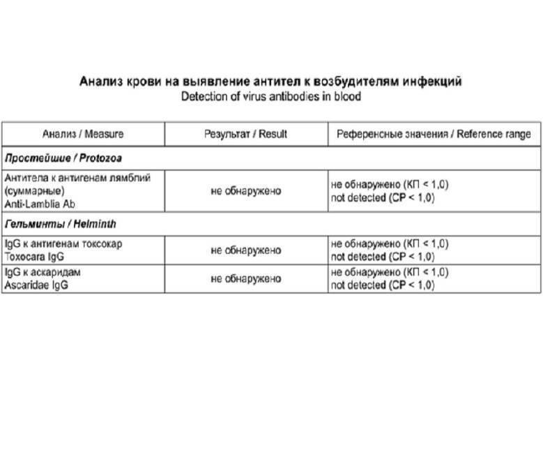 Анализ кала на лямблии