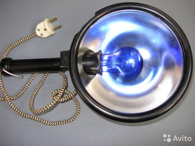 лампа для прогревания носа и горла