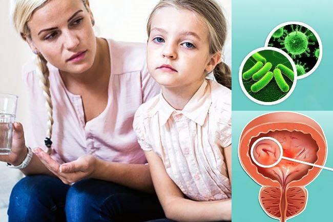 цистит у детей 5 лет чем лечить