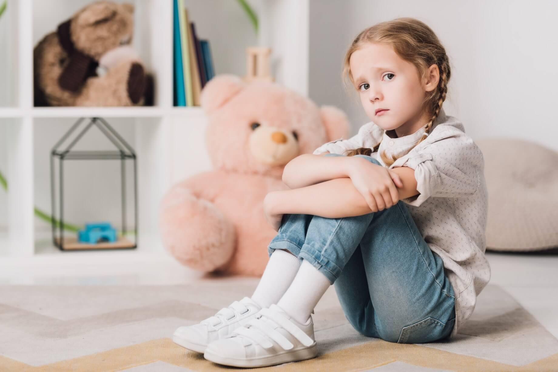 Детская депрессия: симптомы и признаки