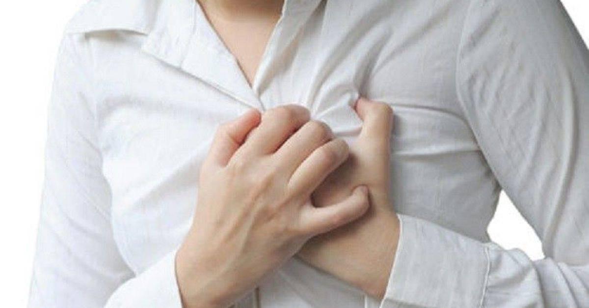Болит в груди жжение