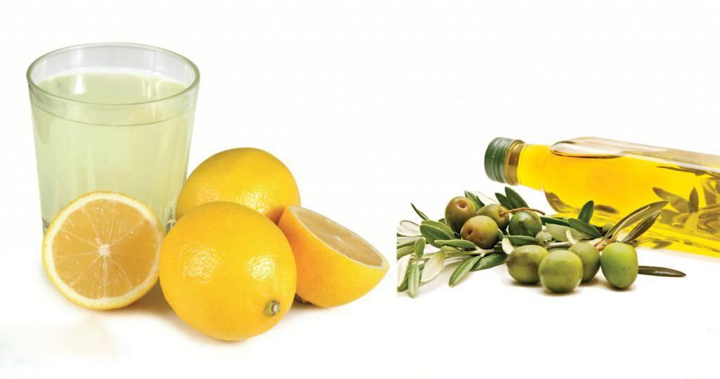 чистка печени оливковое масло и сок лимона