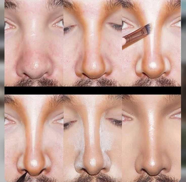 изменить нос