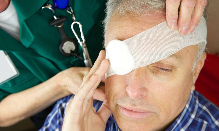 ушиб под глазом лечение