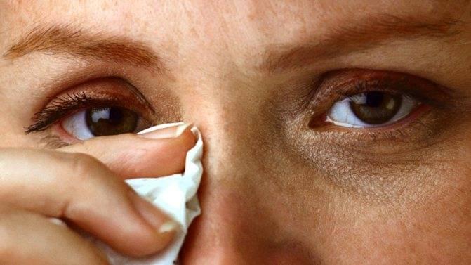промывание глаз при коньюктивите