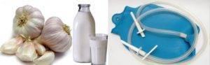 Правила применения, инструкция и рецепты чесночной клизмы от глистов