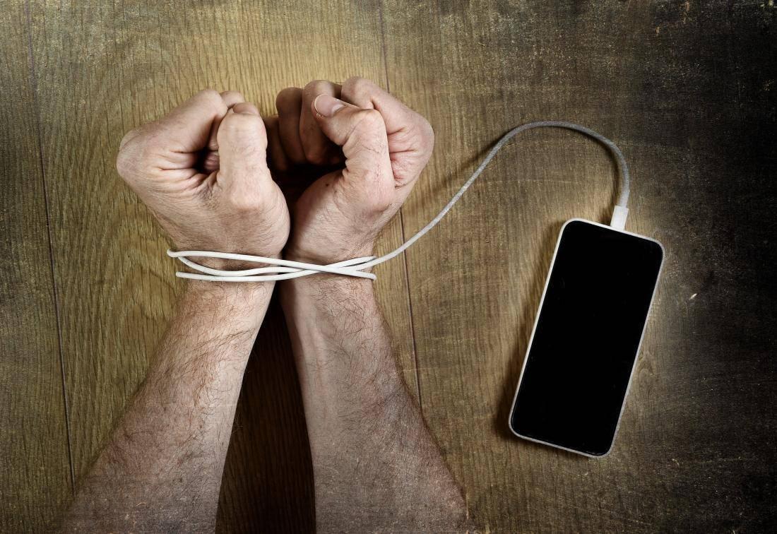 зависимость от телефона как называется