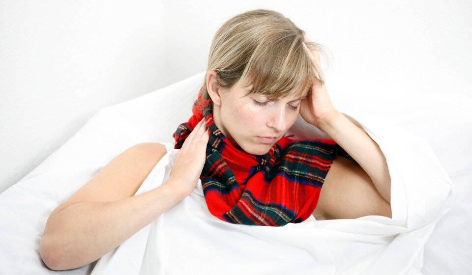 Как заболеть ангиной за один вечер