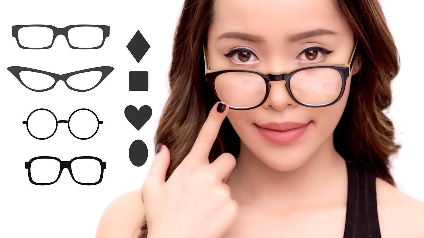 подбор оправы для очков по форме лица
