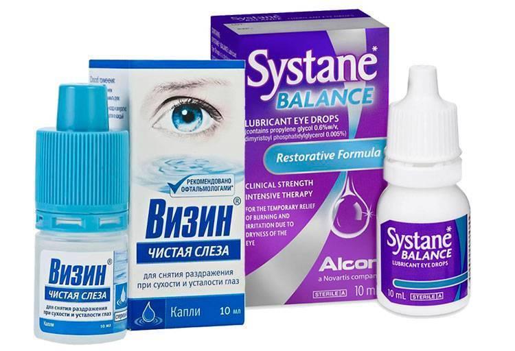 лекарство от покраснения глаз
